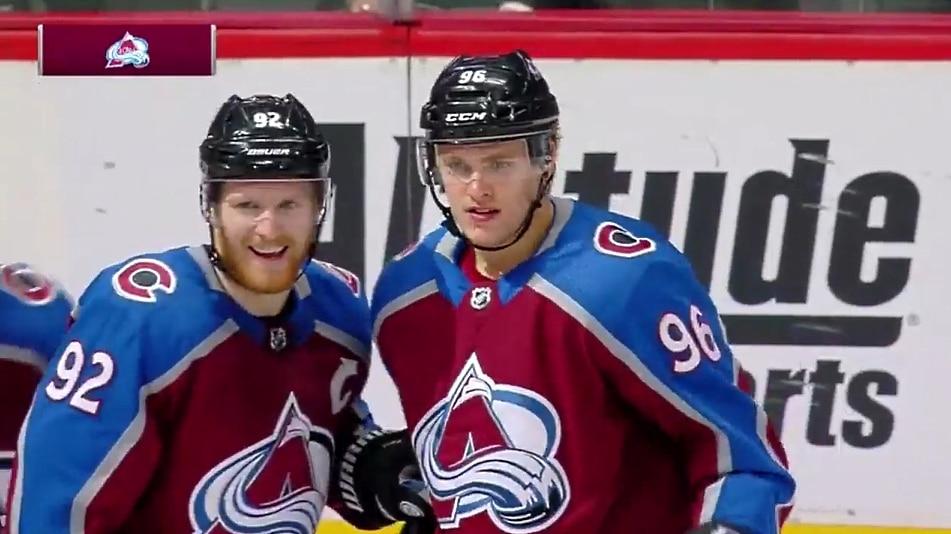 Video: Mikko Rantanen vietti hirmuiltaa – siirtyi NHL:n syöttöpörssin kärkeen