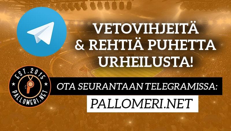 telegram pallomeri.net vetovihjeet kampanjat
