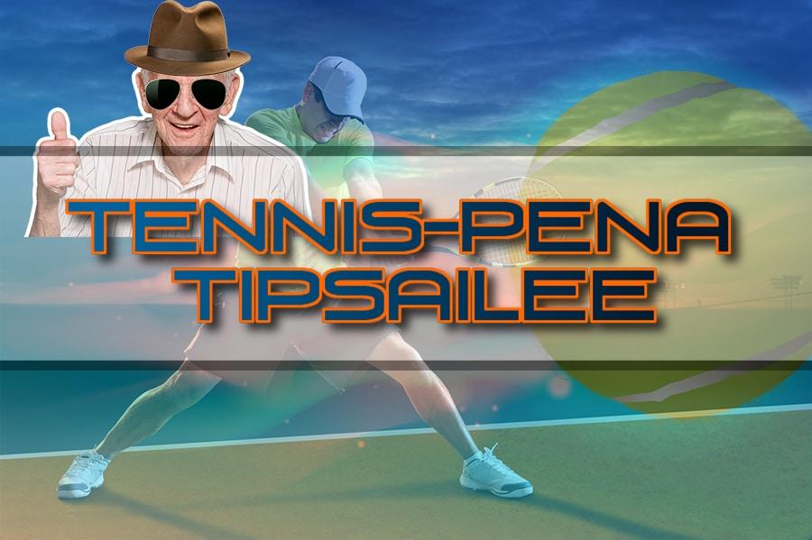 Tennis-Pena tipsailee: