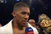 Huippumatsille varmistus! Joshua kohtaa Povetkinin Wembleyllä
