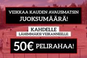 Superpesis-KISA! – Veikkaa juoksumäärä & nappaa 50€ pelirahaa