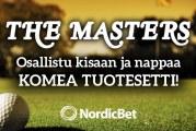 The Masters -kisa! – voittajalle golfpitoinen tuotesetti