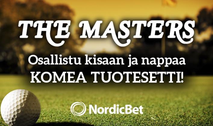 The Masters -kisa! - voittajalle golfpitoinen tuotesetti