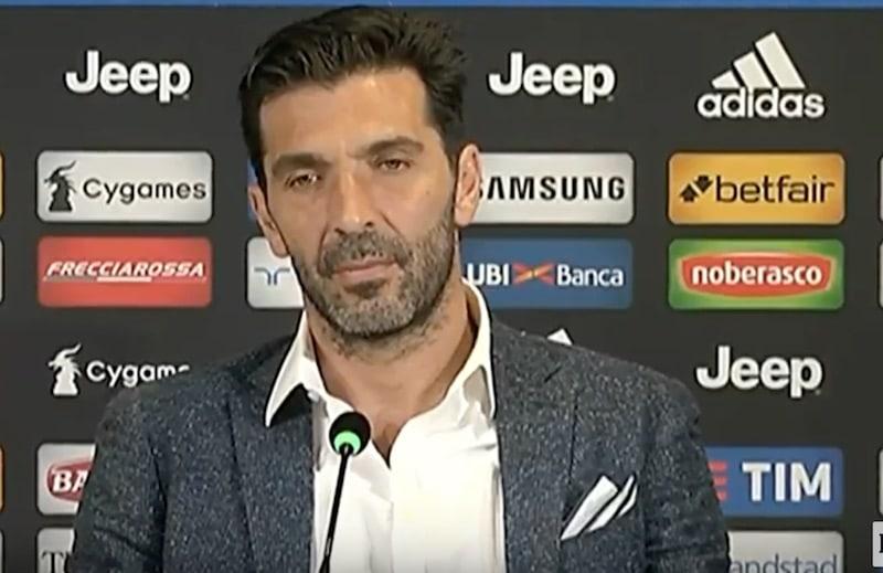 Gianluigi Buffon Juventus Serie A / Pallomeri.net