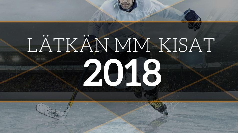 jääkiekon mm-kisat 2018