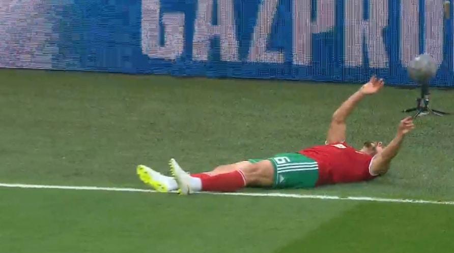 Marokon pelaaja menetti tajuntansa - pallomeri.net