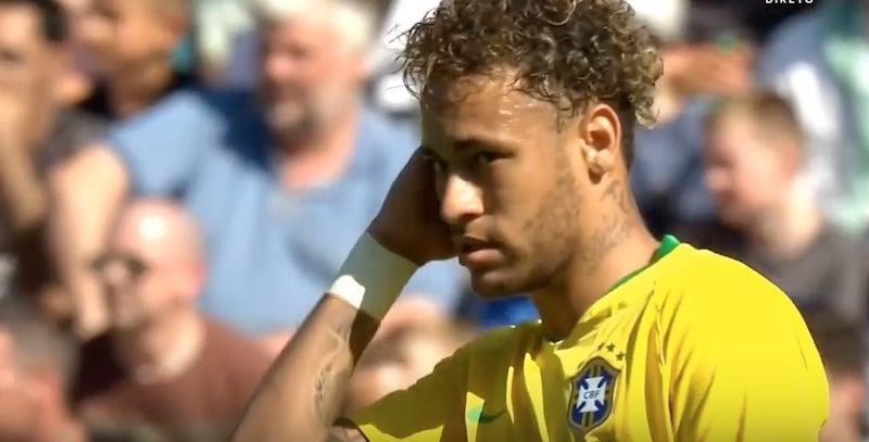 Neymar joutui Sveitsiä vastaan todelliseen mankeliin – edellisen kerran yksittäistä pelaaja rikottu enemmän vuonna 1998