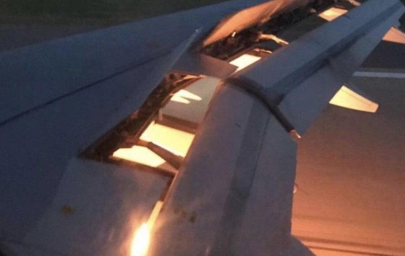 Saudi-Arabian lentokone liekeissä - pallomeri.net