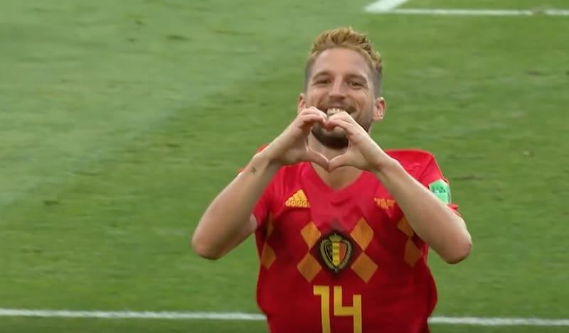 Jalkapallon MM-kisojen puolivälierät Belgia MM-kisat