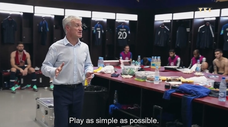 MM-finaalin tauolla kuvattu video Ranskan pukukopista julki -