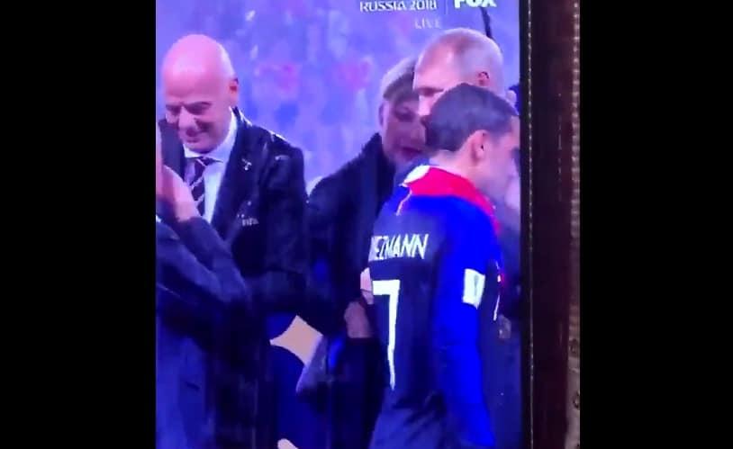 MM-finaalin palkintojenjako 2018 - pallomeri.net