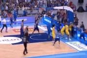 Video: Koripallon MM-karsintaottelu keskeytettiin tappelun vuoksi –kentällä täydellinen kaaos