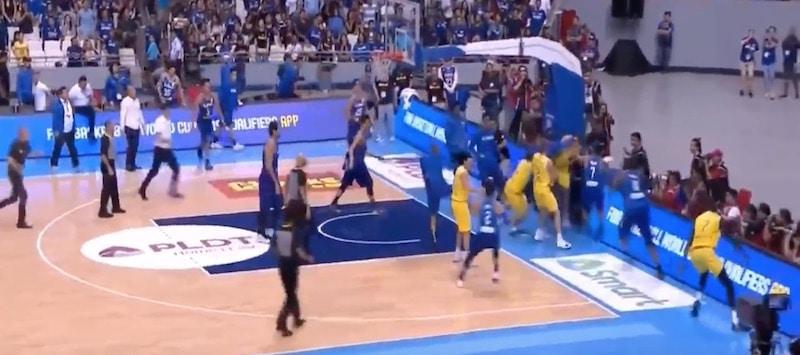 koripallon MM-karsintaottelu Filippiinit Australia FIBA / Pallomeri.net