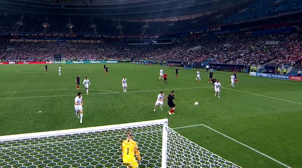 Video: Mario Mandzukic iski jatkoajalla - Kroatia historiallisesti MM-finaaliin
