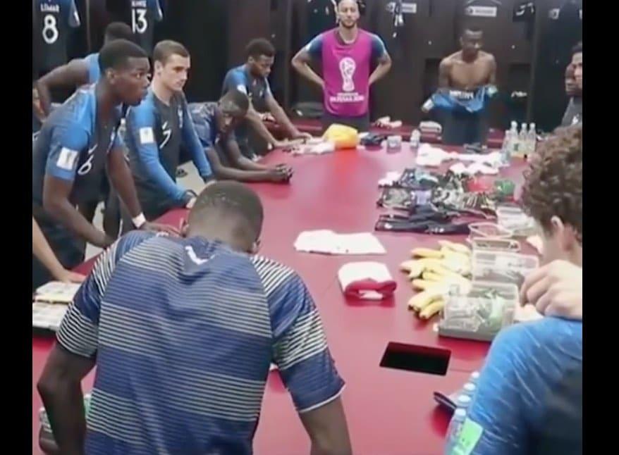 Video: Paul Pogba valmisti mahtavalla puheella joukkueensa MM-finaaliin