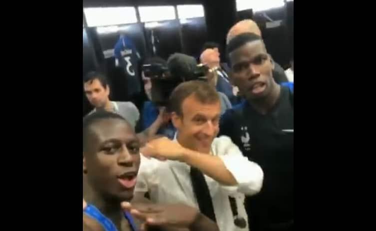 Video: Pelaajat yllyttivät Ranskan presidentin Dab-tuuletukseen