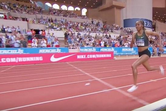 Video: Naisten 3000 metrin esteissä nähtiin uskomaton ME-juoksu