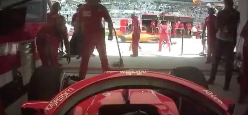 Ferrari Kimi Räikkönen F1 / Pallomeri.net