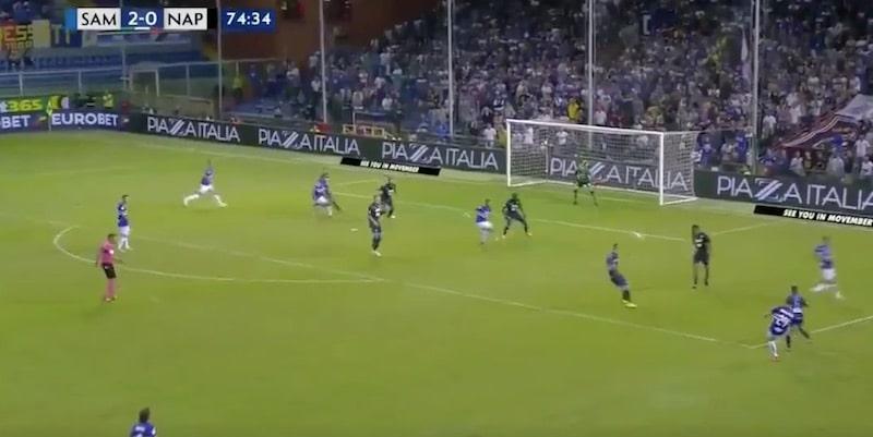 Video: Fabio Quagliarella viimeisteli fantastisen maalin kantapäällä