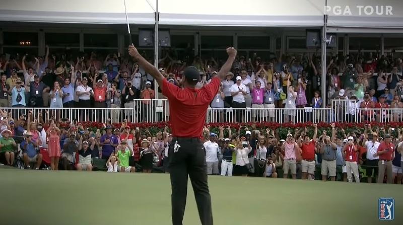 SE ON SIINÄ! Tiger Woods voitti major-turnauksen 11 vuoden tauon jälkeen!
