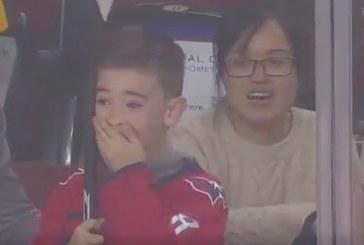 Video: Aleksandr Ovetshkin teki ikimuistoisen yllätyksen – pikkupojan ilme näkemisen arvoinen