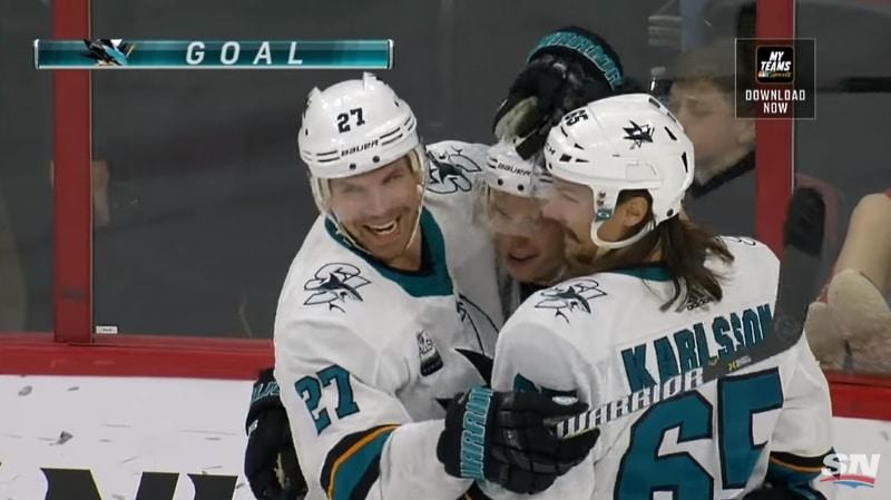 Antti Suomela ensimmäinen NHL-maali - Pallomeri.net