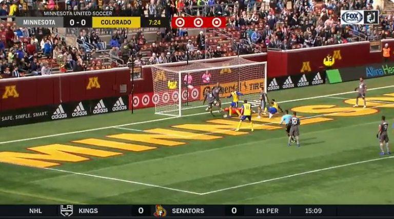 Video: MLS:ssä älyttömän koominen tilanne – kuin suoraan FIFA-pelistä