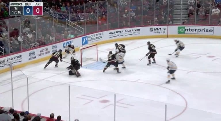 Video: Superlupaus Rasmus Dahlin iski NHL-uran avausmaalinsa