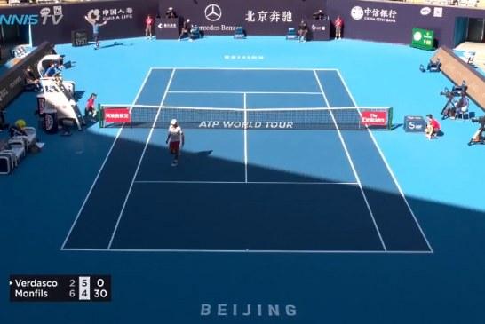 Video: Gael Monfils esitteli mahtavan suorituksen Pekingin ATP-kisassa