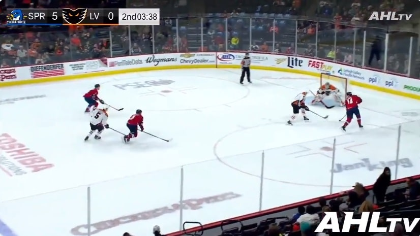 Video: Henrik Borgström hurjana AHL-avauksessaan - Spin-o-rama!