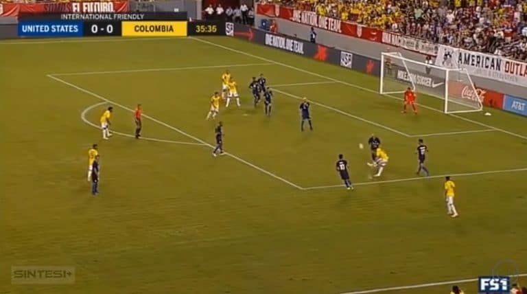 Video: James Rodriguez iski maagisen osuman USA:n verkkoon