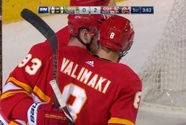 Video: Juuso Välimäki iski NHL-uransa avausmaalin