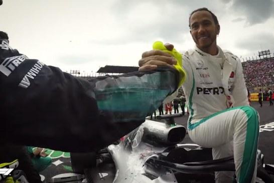 Video: Tältä Lewis Hamiltonin mestaruuden ratkeaminen näytti mekaanikon perspektiivistä