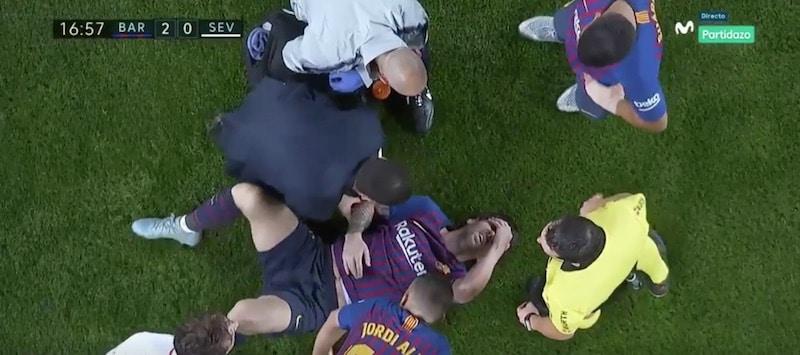 Video: Barcelonalle hirmuinen menetys – Lionel Messi loukkasi todella häijysti kätensä