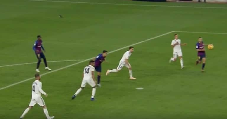 Video: Luis Suarez nöyryytti täydellisesti Real Madridia – painoi hatun El Clásicossa