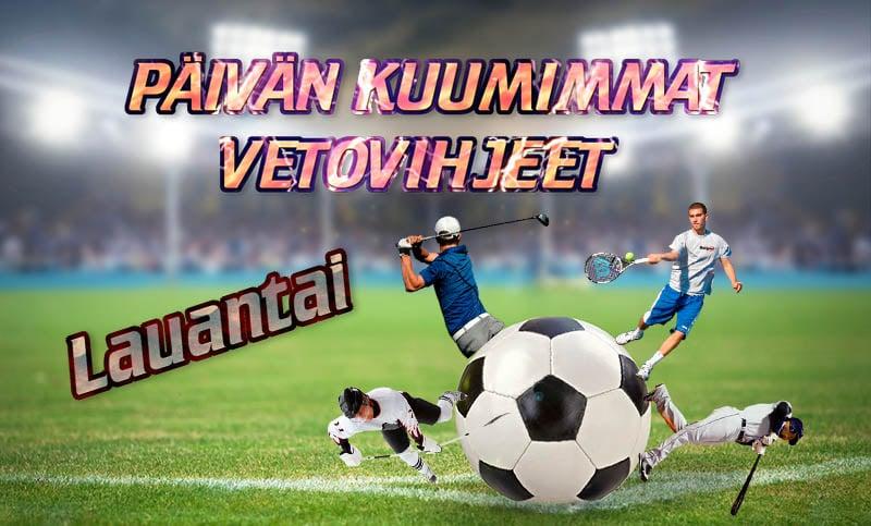 Vetovihjeet: Lauantain vihjeet tulevat KHL:stä sekä Liigasta!