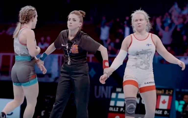 Video: Tästä fiilistelemään Petra Ollin upea voitto painin MM-finaalissa