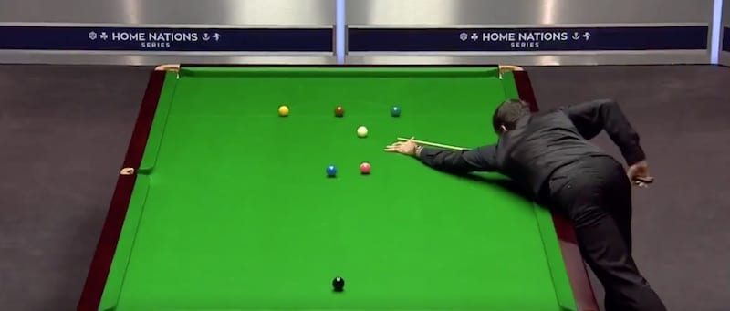 Video: On se päällikkö! Ronnie O'Sullivan teki maksimibreikin English Openissa
