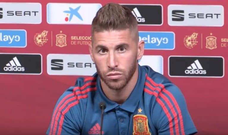 Video: Sergio Ramos sortui älyttömään sikailuun Englantia vastaan