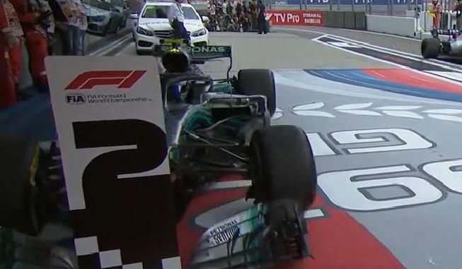 Video: F1 julkaisi uuden videon Valtteri Bottaksesta Venäjän GP:n jälkeen