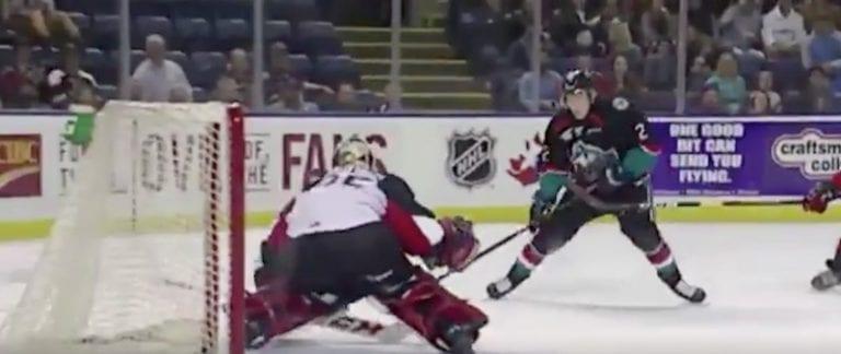Video: Suomalaisjuniori veivasi huikean osuman WHL:ssä