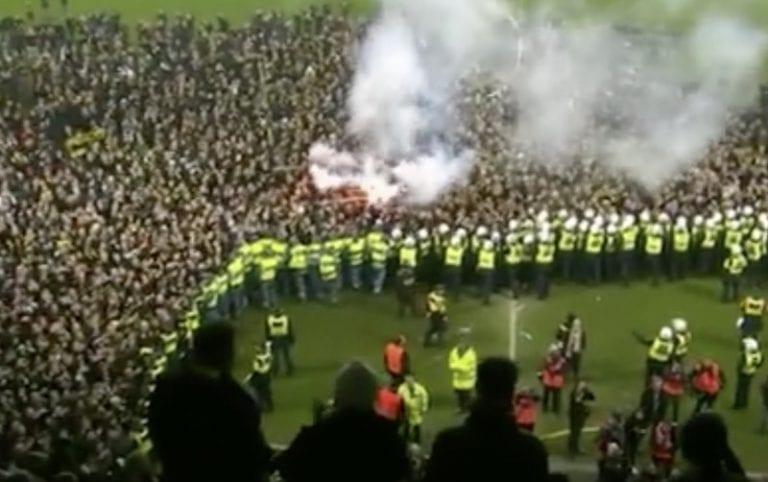 Video: AIK voitti Ruotsin mestaruuden – fanit tekivät valtaisan pitch invasionin