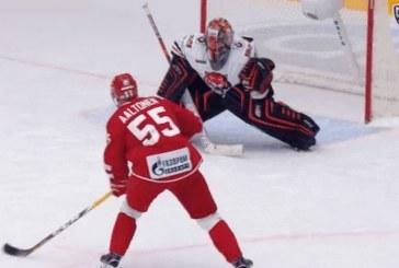 Video: Miro Aaltonen teki aivan maagisen rankkarimaalin KHL:ssä