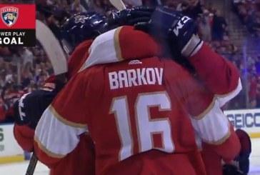 Video: Aleksander Barkov iski voittomaalin NY Islandersia vastaan