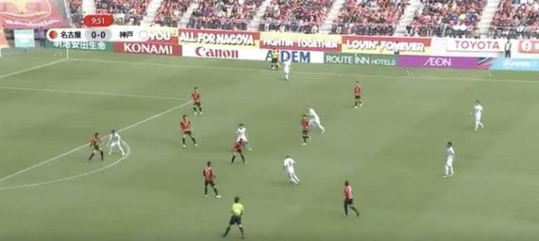 Video: Andres Iniesta antoi majesteetillisen syötön Japanin liigassa