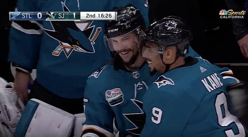Video: Vihdoin! Erik Karlsson teki Sharks-uransa avausmaalin