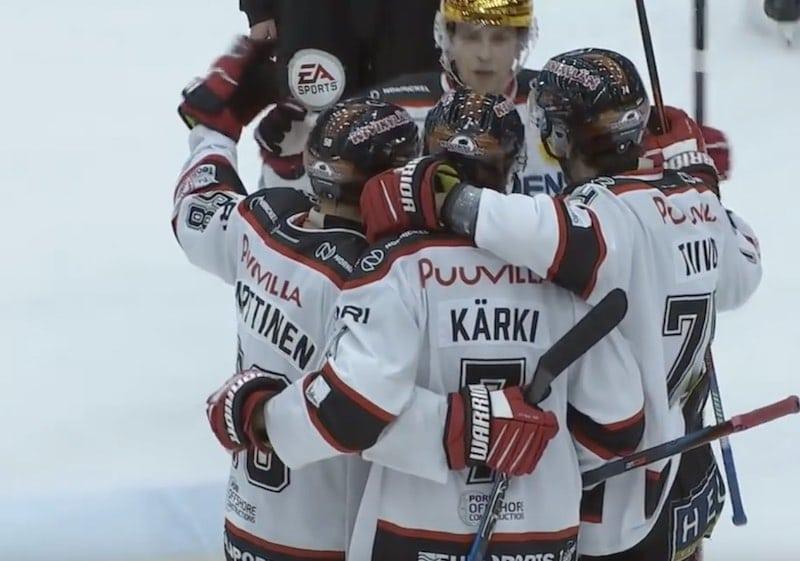 Video: Jarno Kärki teki toisen hattutempun putkeen – Ässien kriisille helpotusta