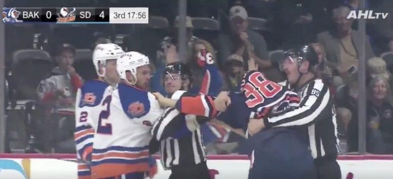 Video: Jesse Puljujärvi pudotti hanskat – sai kylmää kyytiä