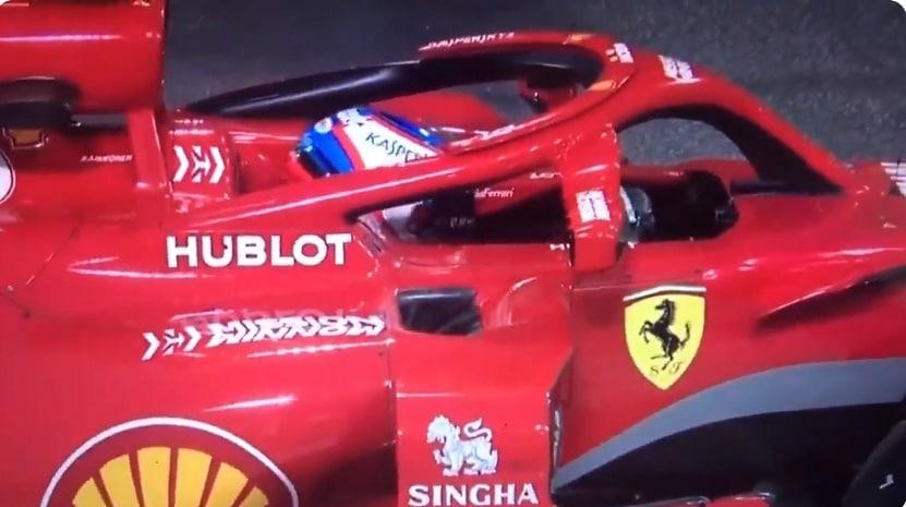 Video: Kimi Räikkösen Ferrari-uralle surullinen loppu - auto laukesi