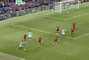 Video: Manchester City järjesti uskomattoman syöttörallin ennen osumaansa